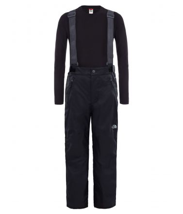 The North Face Kids Snowquest Suspender Plus Ski Pants