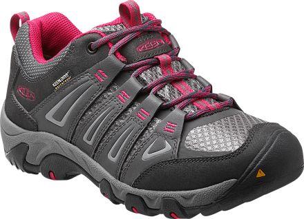 Keen Womens Oakridge Low Waterproof Hiking Shoes