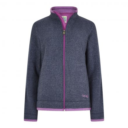Weird Fish Ariana Womens FZ Grid Fleece