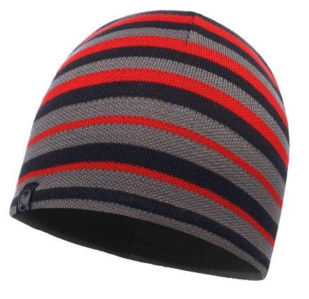 Buff Laki Stripe Beanie Hat
