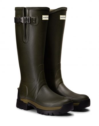 Hunter Womens Balmoral Side Adjustable Wellington Boots