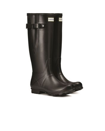 Hunter Womens Norris Side Adjustable Field Wellington Boots