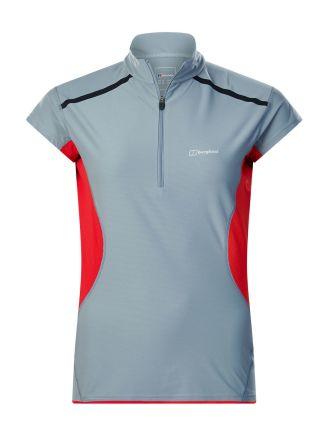 Berghaus Women's Super Tech Long Sleeve Zip Neck T-Shirt