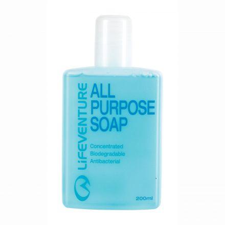 Lifeventure All Purpose Antibacterial Travel Soap 200ml