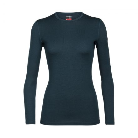 Icebreaker Womens 260 Technical Long Sleeve Crewe Base Layer