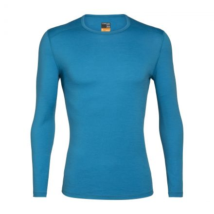 Icebreaker Mens 200 Oasis Long Sleeve Crewe Base Layer Top