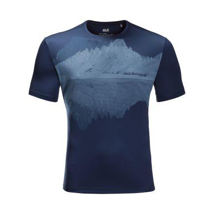 Jack Wolfskin Mens Peak Graphic T-Shirt