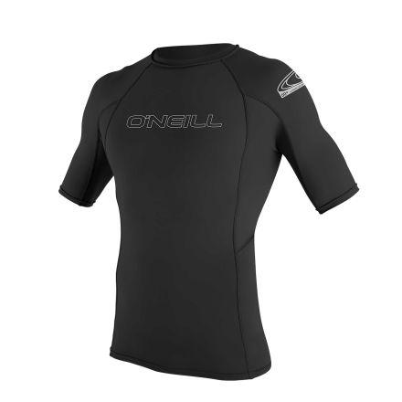 O'Neill Mens Basic Skins Short Sleeve Rash Guard