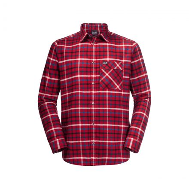 Jack Wolfskin Mens Fraser Island Long Sleeve Shirt