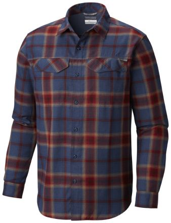 Columbia Silver Ridge Flannel Long Sleeve Mens Shirt