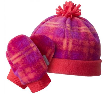 Columbia Toddler Frosty Fleece Hat & Mitten Set