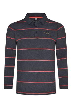 Animal Mens Legacy Long Sleeve Polo Shirt