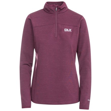 DLX Women's Cristina Half Zip Pullover Fleece