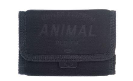 Animal Fielding Mens Wool 3 Leaf Wallet