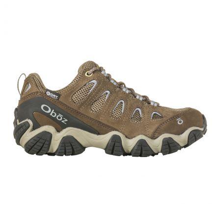 Oboz Womens Sawtooth Low Waterproof Walking Shoes