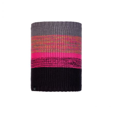 Buff Rib Knitted Snood in Ombre