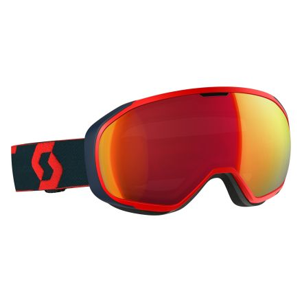 Scott Fix Red and Blue Mens Ski Goggles