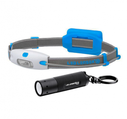 LED Lenser NEO / K2 Twin Pack Torches