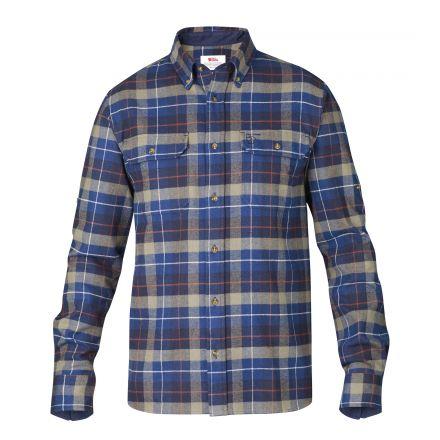 Fjallraven Mens Singi Heavy Flannel Shirt
