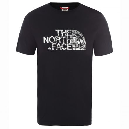 The North Face Mens Woodcut Dome Tee
