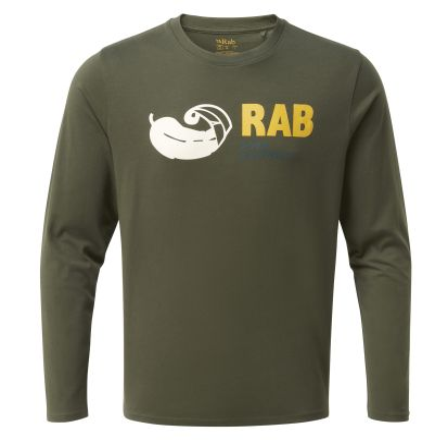 Rab Mens Stance Vintage Long Sleeve T Shirt