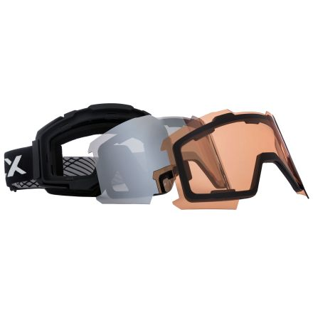 DLX Unisex Magnetic Changeable Lens Ski Goggles