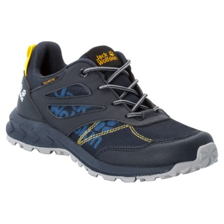 Jack Wolfskin Kids Woodland Texpaore Low Walking Shoes