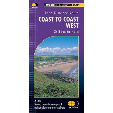 Harveys Coast To Coast West XT4 Map