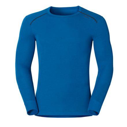 Odlo Men's Warm Long Sleeve Crew Neck Shirt