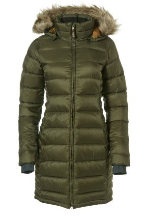 Rab Womens Deep Cover Down Parka Jacket with Faux Fur Hood