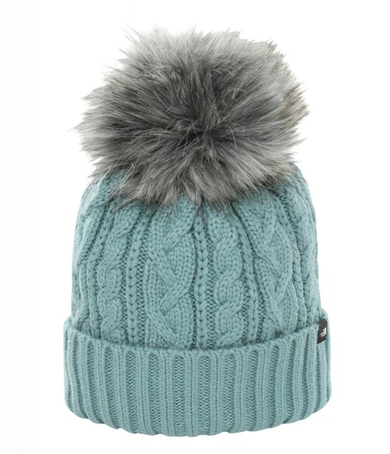 The North Face Womens Oh-Mega Fur Pom Beanie
