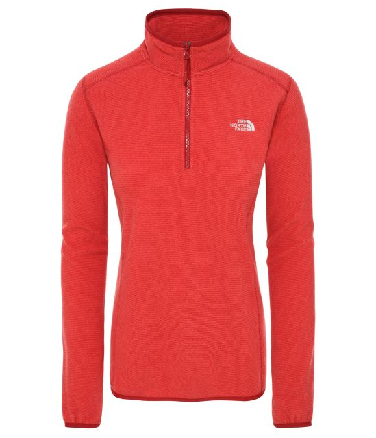 The North Face Womens 100 Glacier Quarter Zip Fleece