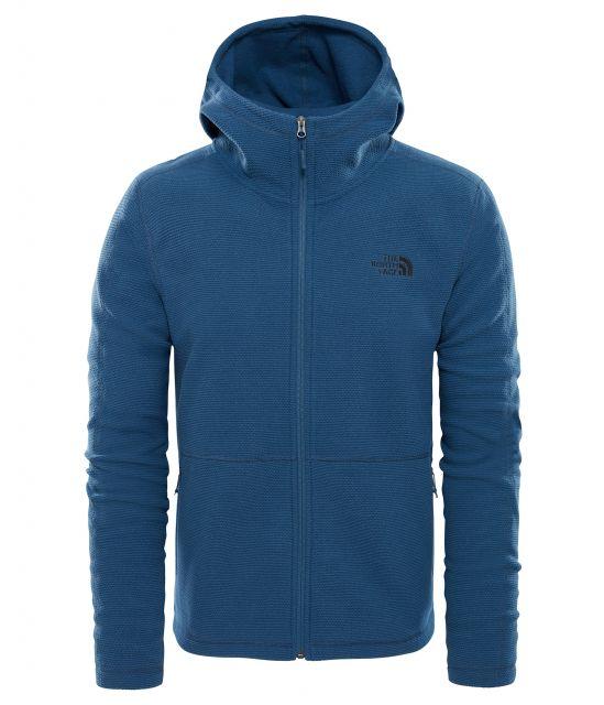 The North Face Men's Texture Cap Rock Full-Zip Hoodie Jacket