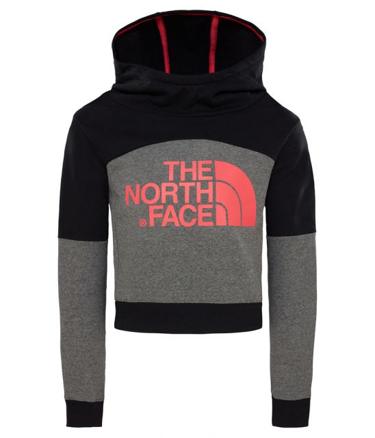North Face Girls Cropped Hoodie
