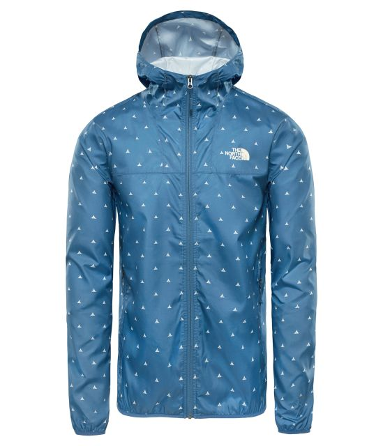 The North Face Men's Printed Cyclone Hooded Jacket