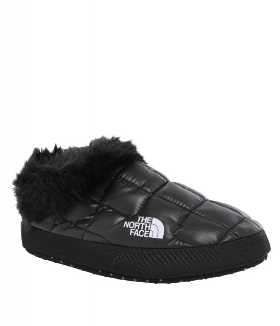 The North Face Womens Thermoball Faux Fur Mule Slippers