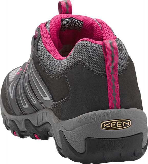 Keen Womens Oakridge Low Waterproof Hiking Shoes