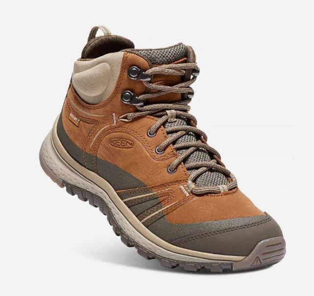 Keen Womens Terradora Leather Mid Walking Boots