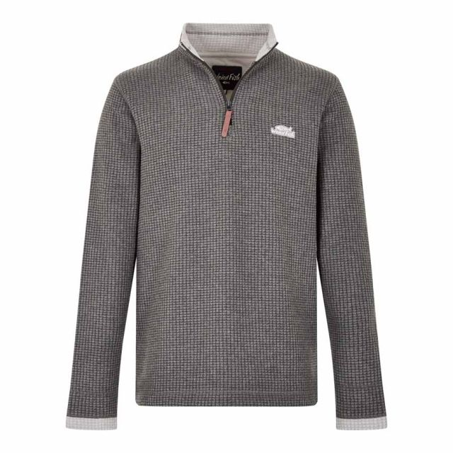 Weird Fish Newark QZ Grid Mens Fleece