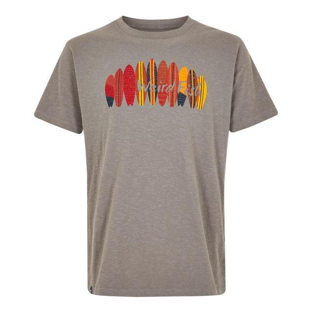 Weird Fish Surfer Cotton Mens T Shirt