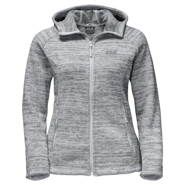 Jack Wolfskin Aquila Womens Hooded Fleece Jacket