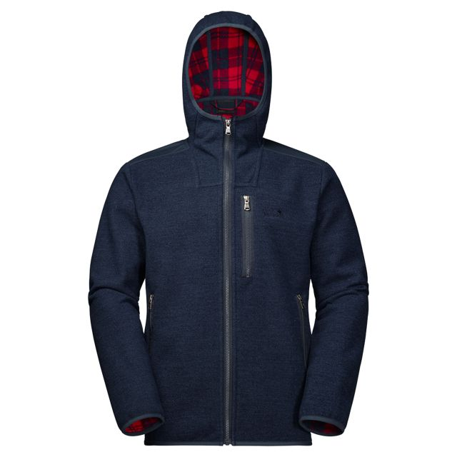 Jack Wolfskin Edmonton Mens Fleece Jacket