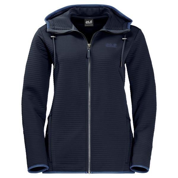 Jack Wolfskin Womens Modesto Hooded Fleece Jacket