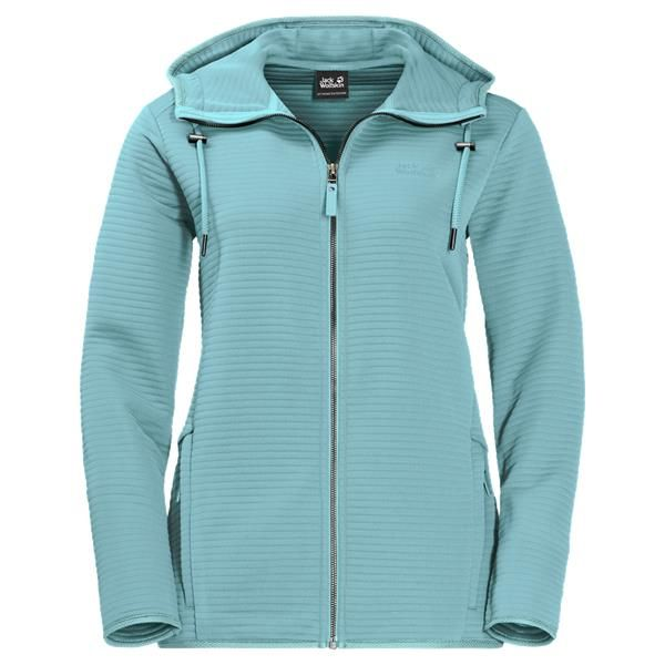 Jack Wolfskin Womens Modesto Hooded Fleece Jacket