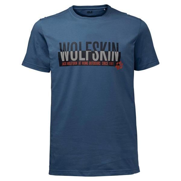 Jack Wolfskin Mens Slogan T Shirt