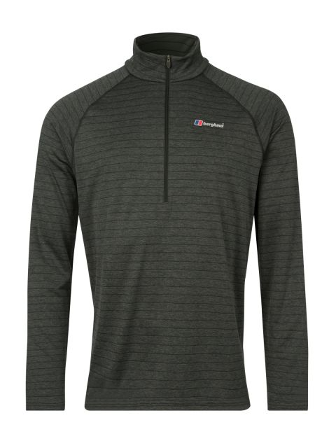 Berghaus Mens Thermal LS Zip Tech T Shirt