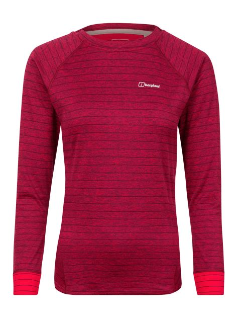 Berghaus Women's Thermal Tech LS Crew T Shirt