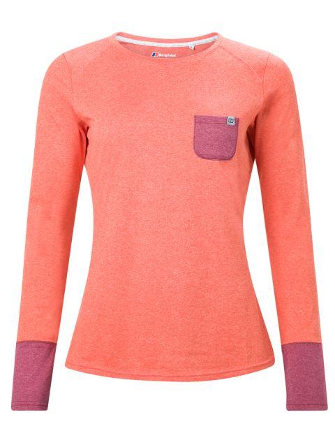 Berghaus Women's Explorer Tech LS Crew T-Shirt
