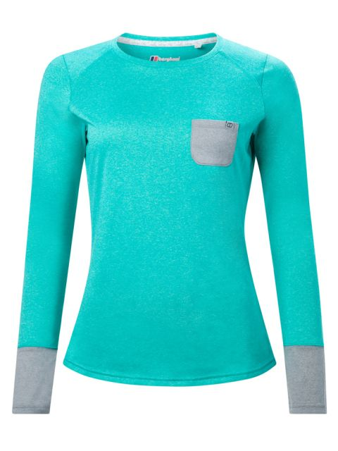 Berghaus Women's Explorer Tech LS Crew T-Shirt
