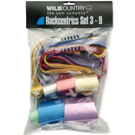 Wild Country Climbing Rockcentric Set (Sizes 3-9)